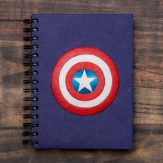 Mr Ellie Pooh Large Patriotic Supersoldier Journal