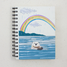 Mr Ellie Pooh Large Sea Otter Journal