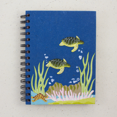 Mr Ellie Pooh Large Sea Turtles Journal