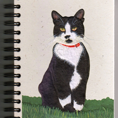 Mr Ellie Pooh Large Socks Cat Journal