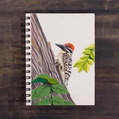 Mr Ellie Pooh Large Woodpecker Journal