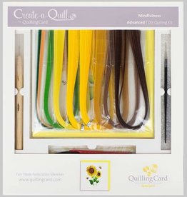 Quilling Card DIY Quilling Kit Sunflowers - Advanced