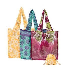 Matr Boomie Recycled Sari Pocket Bag