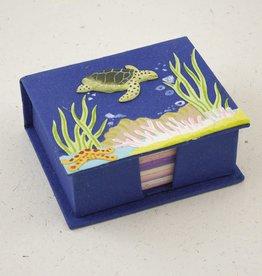 Mr Ellie Pooh Sea Turtle Note Box