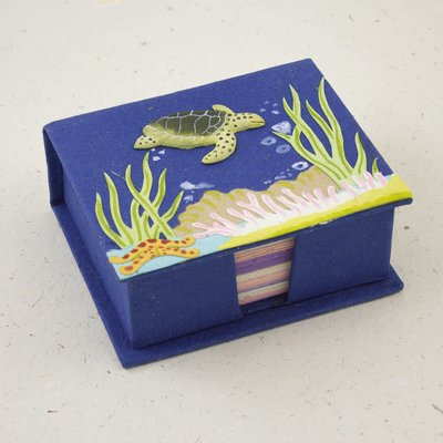 Mr Ellie Pooh Sea Turtle Note Box
