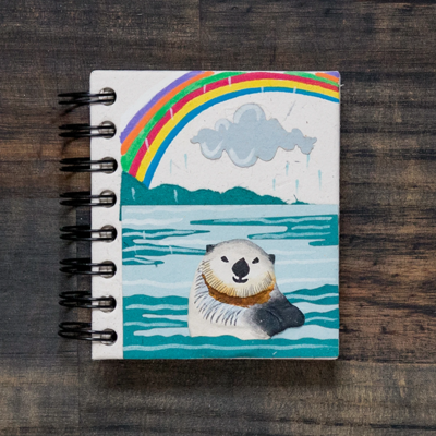 Mr Ellie Pooh Small Sea Otter Journal