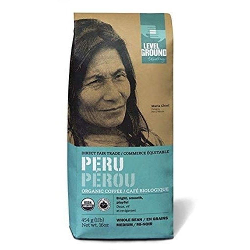 Level Ground Trading Peru Ground Coffee 454G