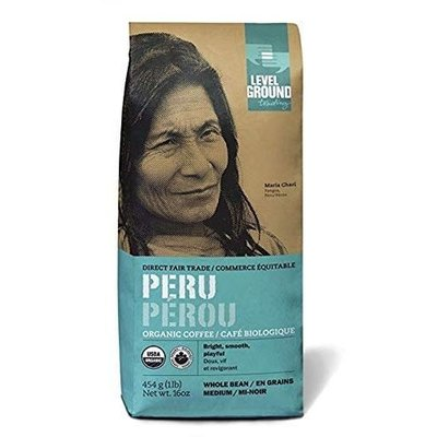 Level Ground Trading Peru Ground Coffee 454G
