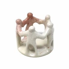 Global Crafts Soapstone Circle of Friends