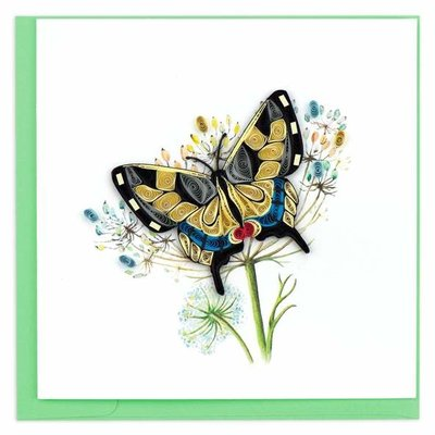 Quilling Card Swallowtail Butterfly Quilled Card