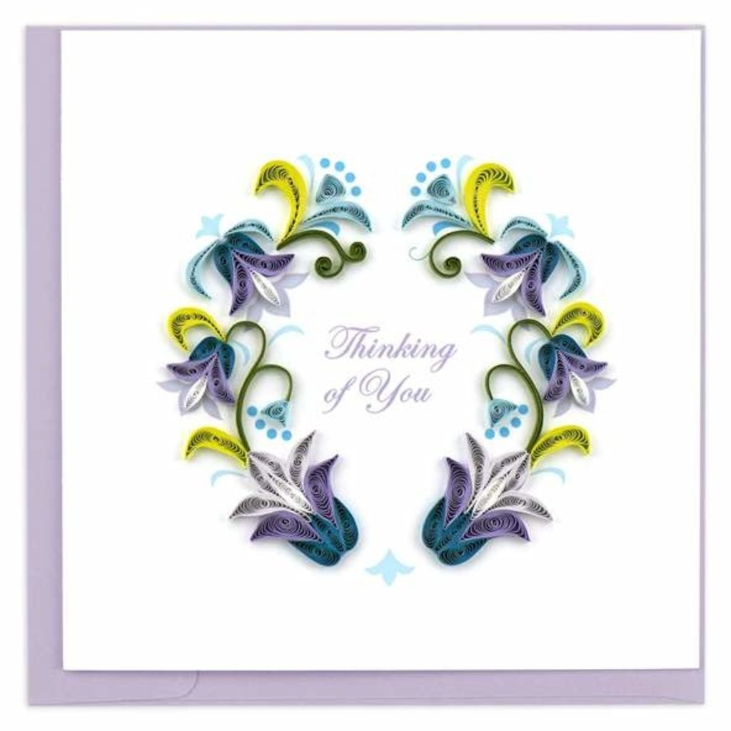 Quilling Card Thinking of You Quilled Card