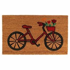 Ten Thousand Villages Bicycle Coir Doormat