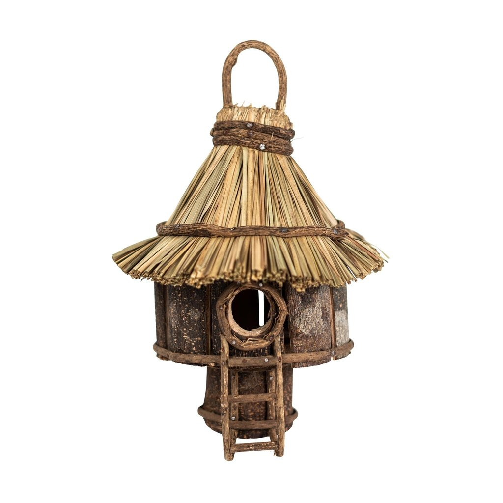 Ten Thousand Villages Happy Home Birdhouse
