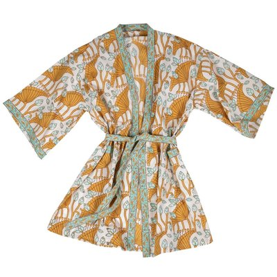 Ten Thousand Villages Rest & Relaxation Cotton Bathrobe