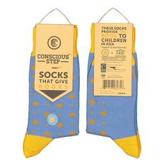 Conscious Step Socks that Give Books: Polka Dot