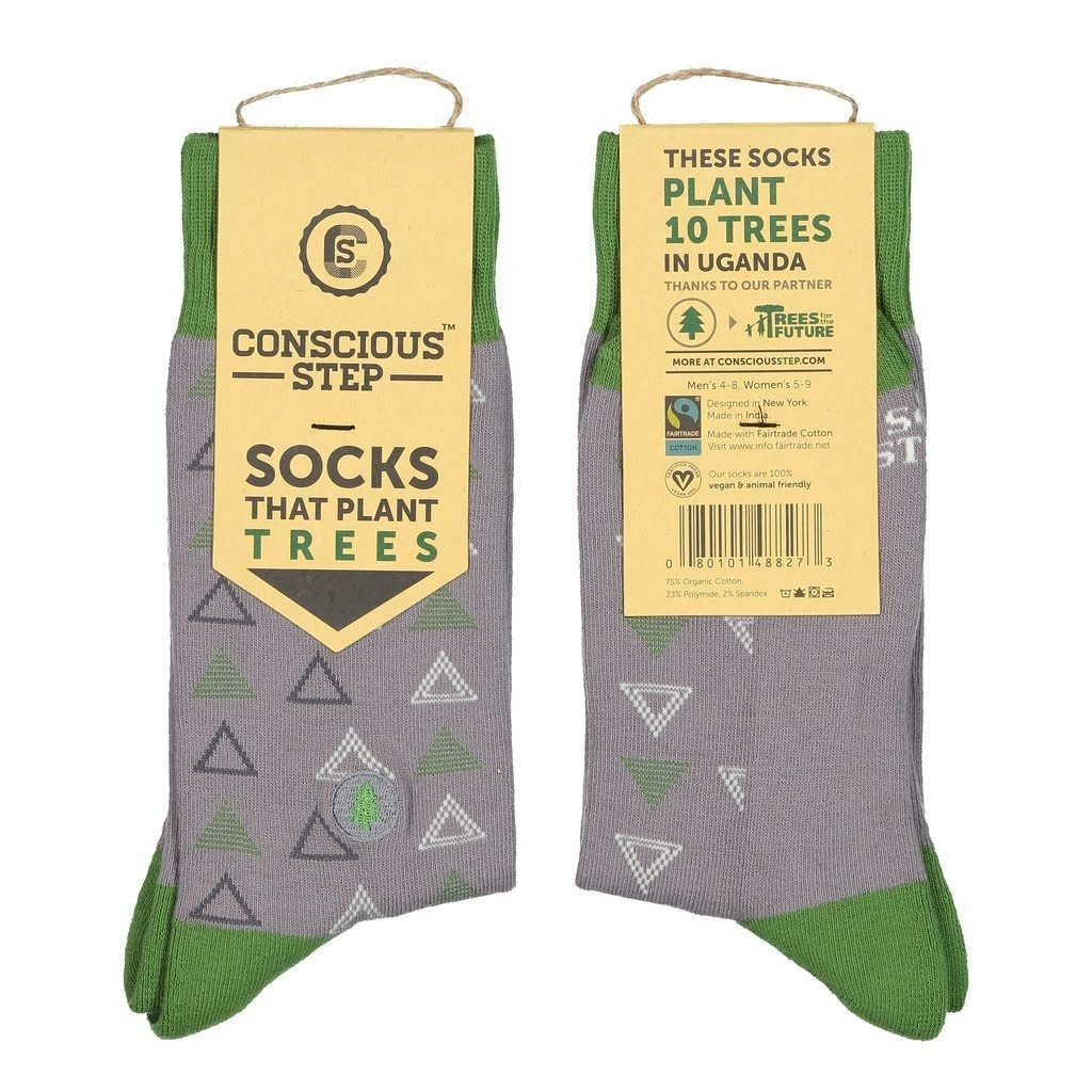 Conscious Step Socks that Plant Trees: Triangles