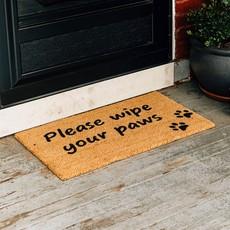 Ten Thousand Villages Wipe Your Paws Doormat