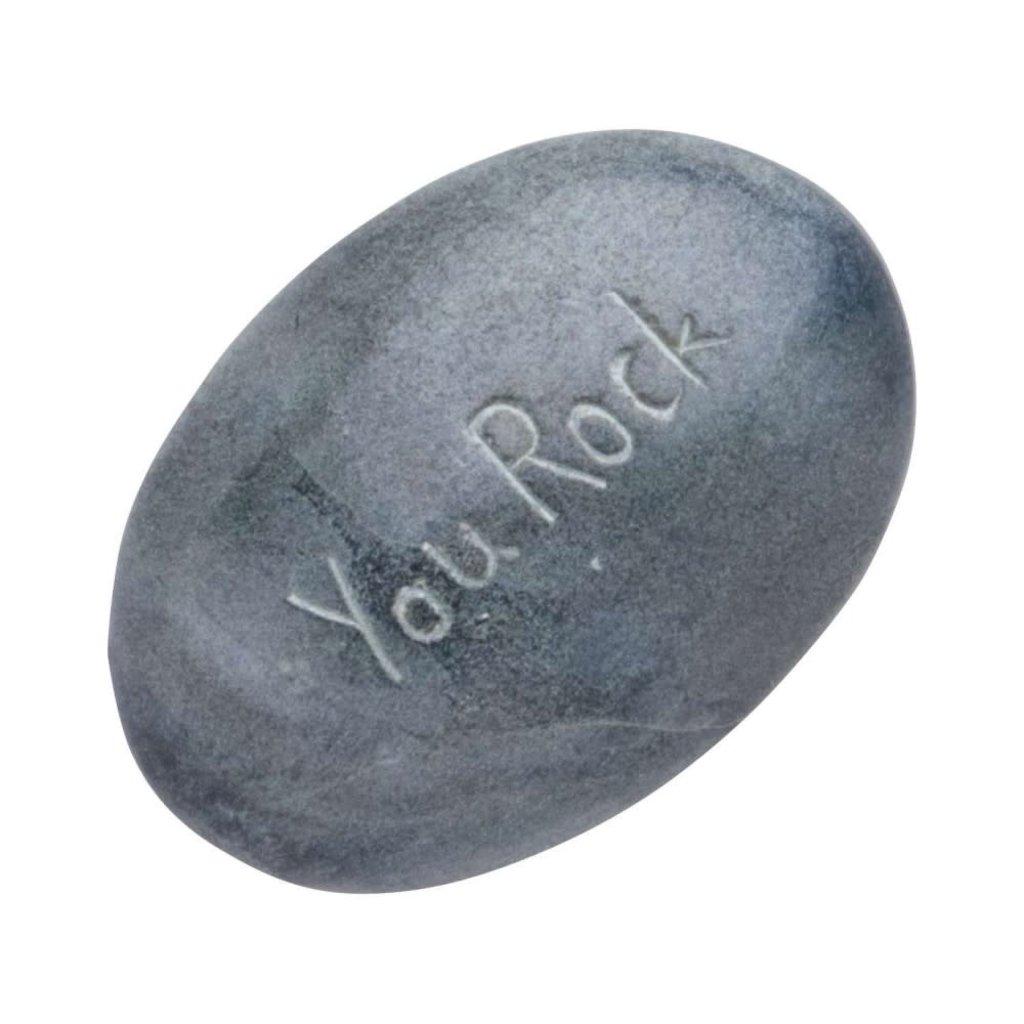 Ten Thousand Villages You Rock River Stone