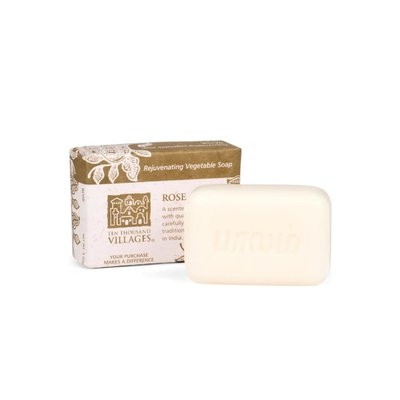 Ten Thousand Villages Rose Soap