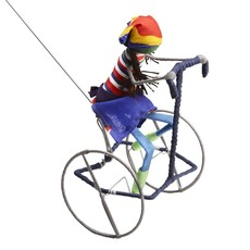 Ten Thousand Villages Galimoto Girl Cyclist