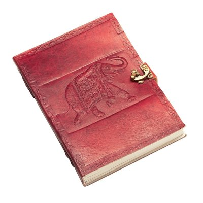 Ten Thousand Villages Leather Elephant Journal