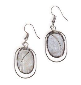 Ten Thousand Villages Fair Lady Capiz Earrings