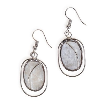 Ten Thousand Villages Fair Lady Capiz Earrings