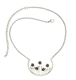 Ten Thousand Villages Silver Meadow Necklace