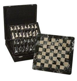 Ten Thousand Villages Mountainside Chess Set Stone