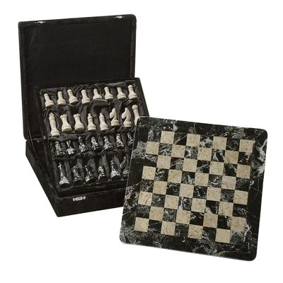 Ten Thousand Villages Mountainside Chess Set Stone