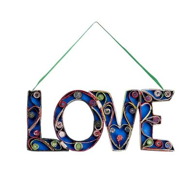 Ten Thousand Villages Inspiring News Love Sign