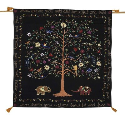 Ten Thousand Villages Dream Tree Wall Hanging