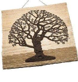 Ten Thousand Villages Jute Tree of Life Wall Hanging