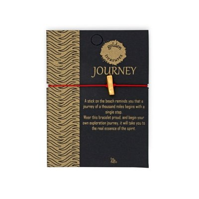 Ten Thousand Villages Journey Rod Bracelet on Card