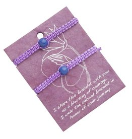 Ten Thousand Villages Blessings of Courage Bracelet