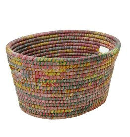 Ten Thousand Villages Bright Day Sari Laundry Basket