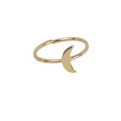 Ten Thousand Villages Crescent Moon Ring