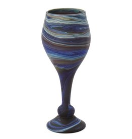 Ten Thousand Villages Phoenician Glass Goblet