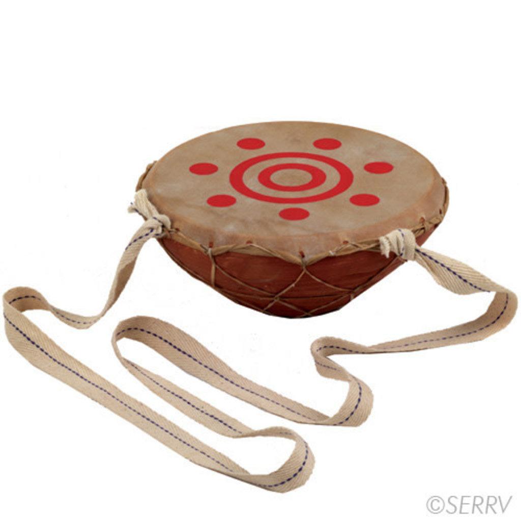 Serrv Ceramic Bajana Drum