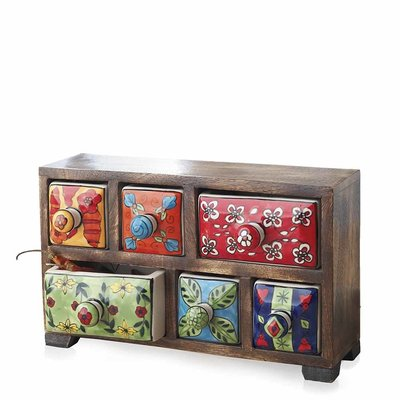 Serrv Bright Mango Spice Chest