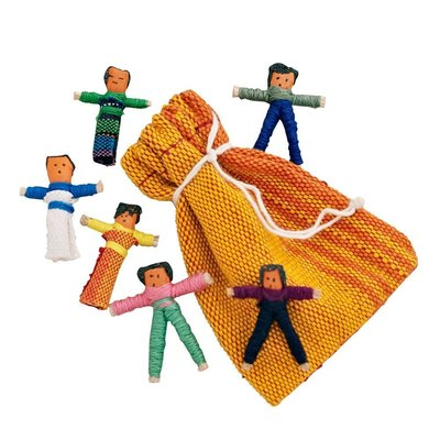 Ten Thousand Villages Worry Dolls 10 Count Bag