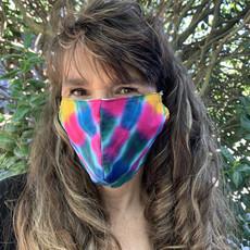 Unique Batik Tie Dye Face Mask