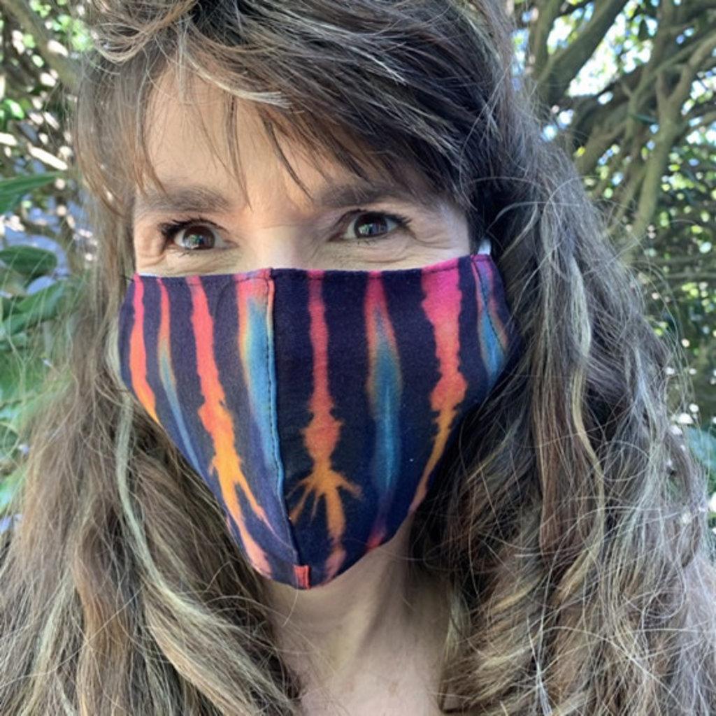 Unique Batik Tye Dye Face Mask