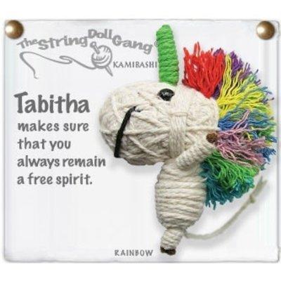 Kamibashi Tabitha the Unicorn String Doll Keychain