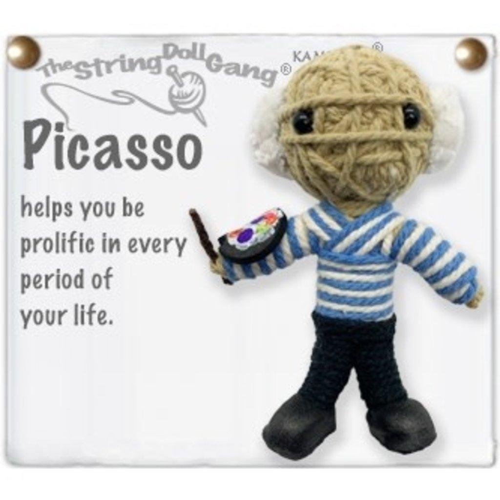 Kamibashi Picasso String Doll Keychain
