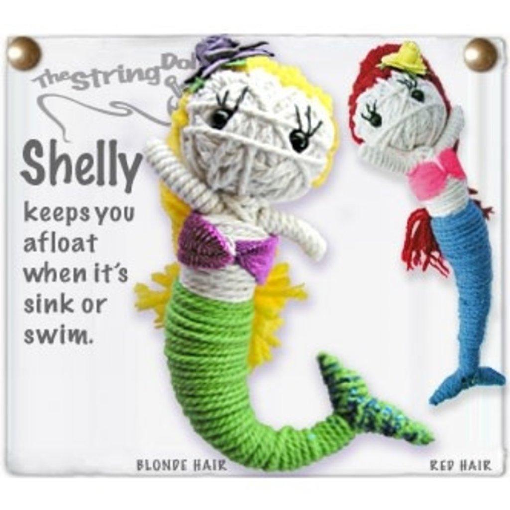 Kamibashi Shelly String Doll Keychain