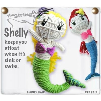 Kamibashi Shelly String Doll Keychain