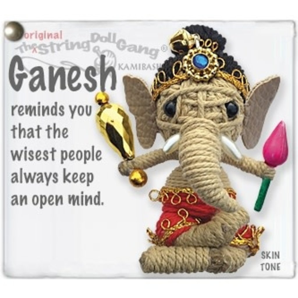 Kamibashi Ganesh String Doll Keychain