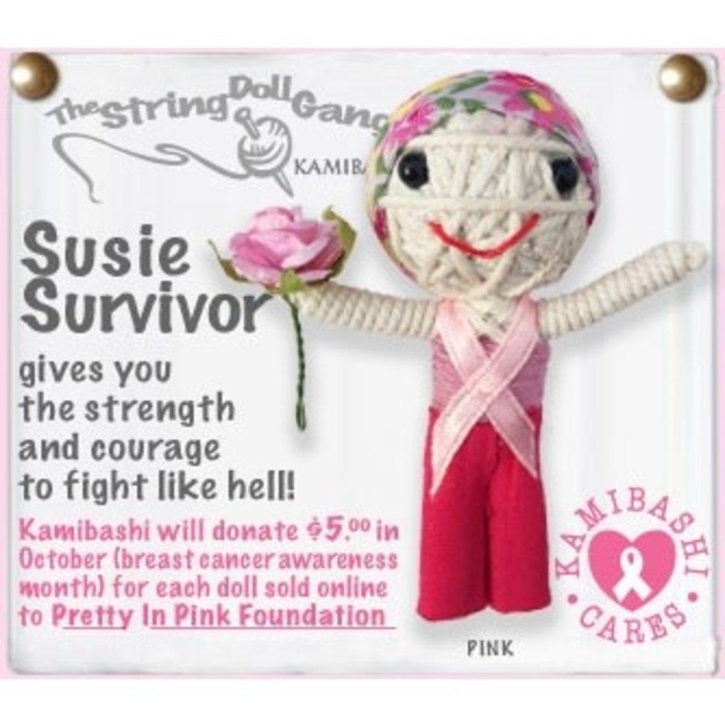 Kamibashi Susie Survivor String Doll Keychain