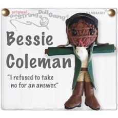 Kamibashi Bessie Coleman String Doll Keychain